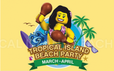 Tropical Island Beach Party at Legoland Waterpark