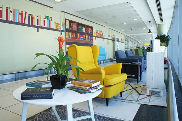New libraries opened across Terminals 1 and 3 of Abu Dhabi International Airport