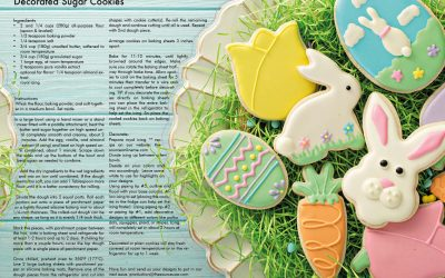 Easter Cookies and Recipes
