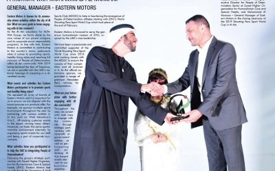 A Moment with Mohammed Al Momani GENERAL MANAGER – EASTERN MOTORS