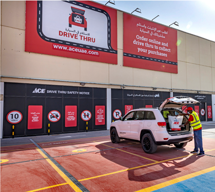 ACE Announces Drive Thru Shopping